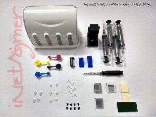Empty InkTank CISS kit (CRV4) for HP & Canon Printers